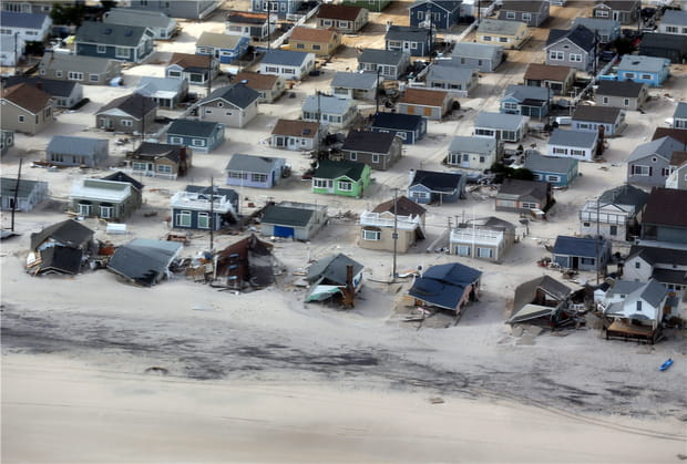 Sandy fait de gros dégâts aux Etats-Unis