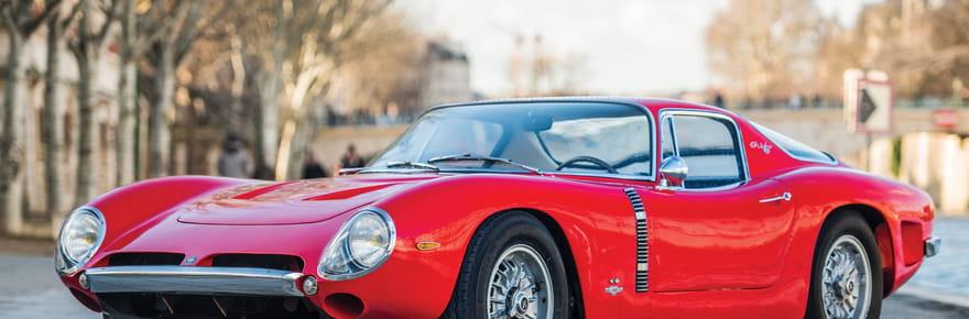 Les photos de la voiture de Johnny Hallyday mise aux enchères