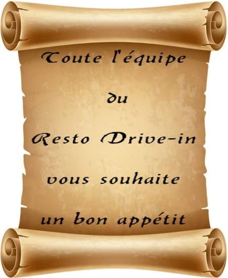 Resto Drive-In Lugarde  - bienvenue -   © moi