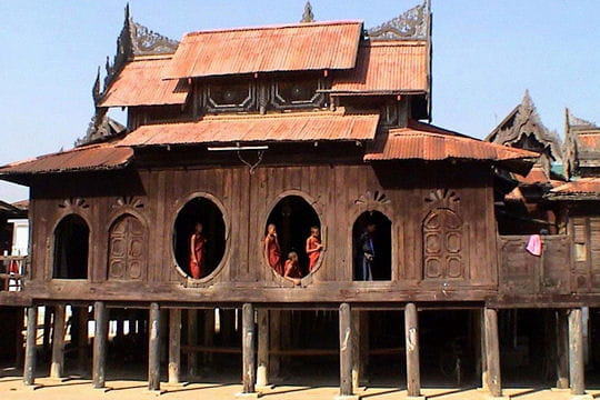 Monastère de Shwe Yan Pyay au Myanmar