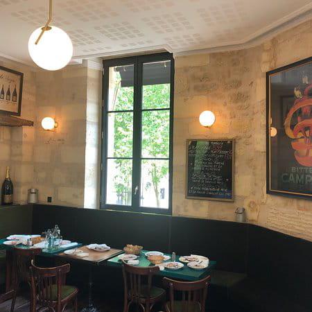Restaurant : Le Café Sainte-Croix  - Étage du café -   © Café Sainte-Croix