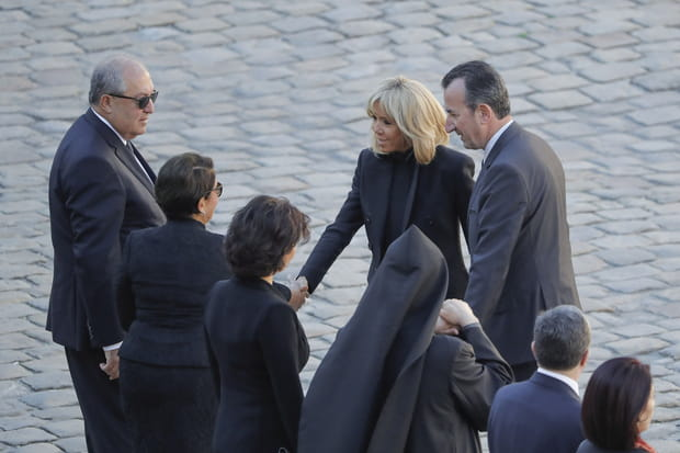 Brigitte Macron et Nouneh Sarkissian