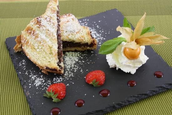 L'Affaire de Goût  - croque chocolat banane coco -   © gael Horveno