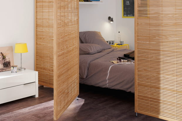 une porte en trompe l 39 il. Black Bedroom Furniture Sets. Home Design Ideas