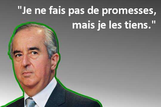 Edouard Balladur fait ce qu'il ne dit pas
