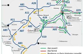 Routes fermées [inondations] : A10, A71, sur quels axes ne pas circuler ce mardi ?
