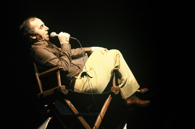 Charles Aznavour à l'Olympia