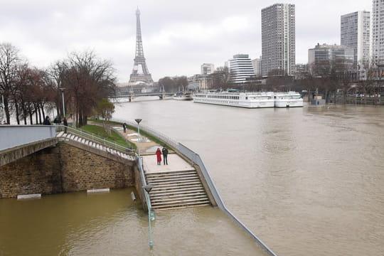 Crue de la Seine: l'eau ne monte plus à Paris, les prévisions