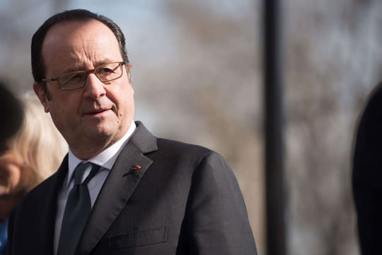 VIDEO - François Hollande poignant à la synagogue après l'attentat de l'Hyper Casher