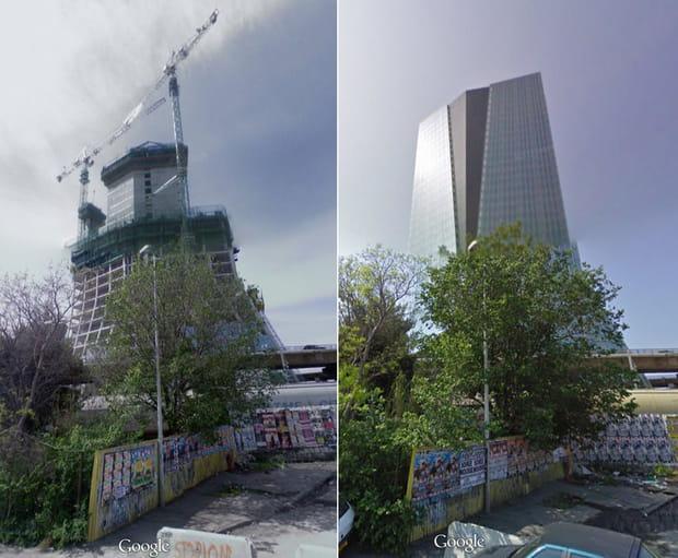 construction de la tour cma cgm de marseille