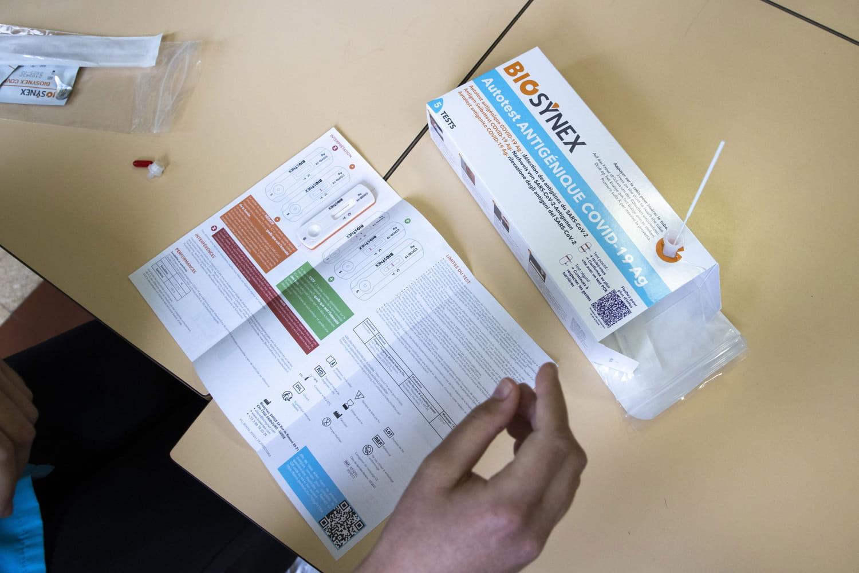 Autotest Covid: fin de la validité pour le pass sanitaire dès le 15octobre