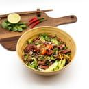 Entrée : Thai at Home  - Salade épicée au boeuf et à la citronnelle -   © thai at home