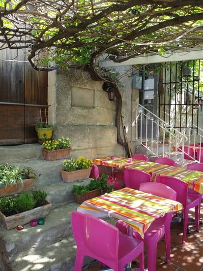 Auberge d'Aigaliers  - la terrasse -