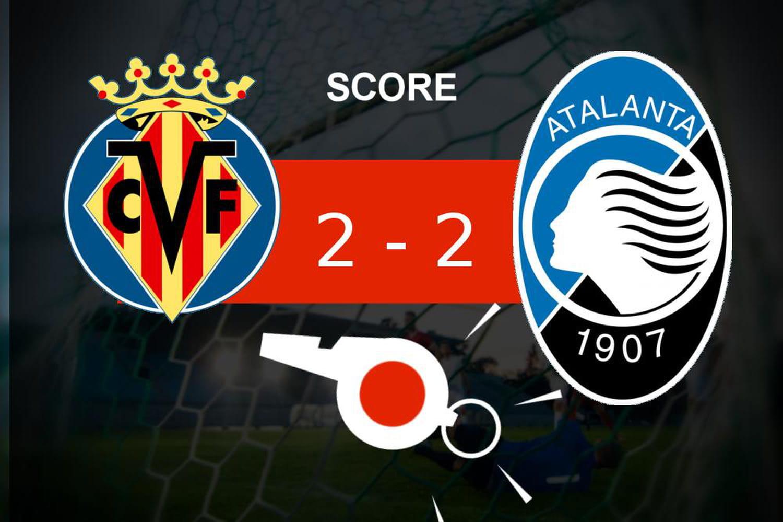 Villarreal - Atalanta: l'Atalanta Bergame n'a pas fait la différence, le résumé
