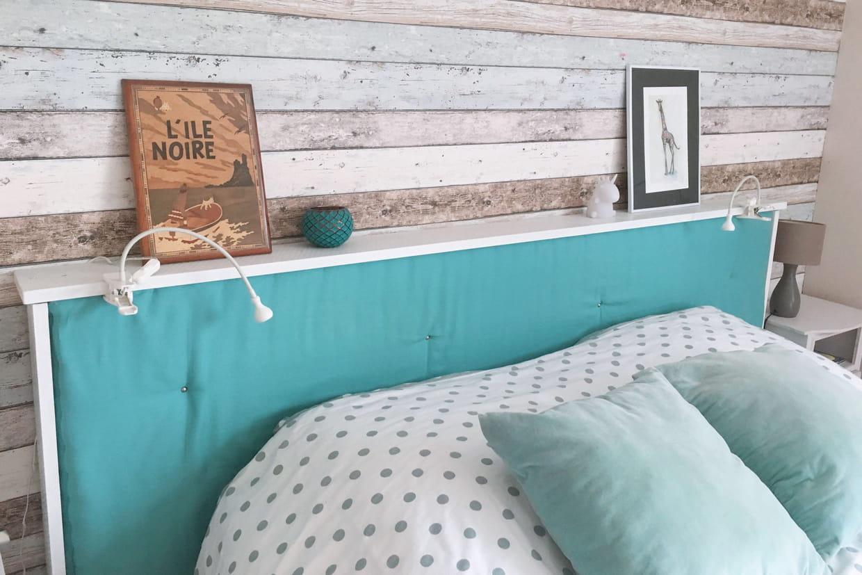diy 50 t tes de lit fabriquer vous m me. Black Bedroom Furniture Sets. Home Design Ideas
