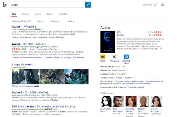 Bing: le gros concurrent de Google