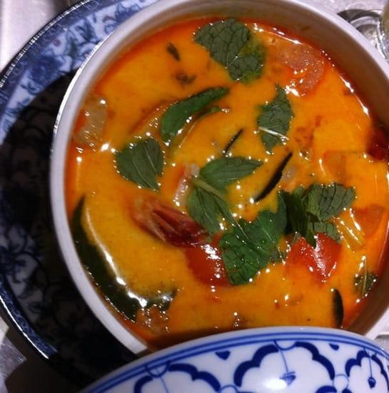 Entrée : Sawasdee  - Soup crevettes citronnelle  -