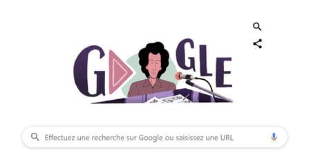 Google célèbre l'anniversaire de la naissance de Michel Berger