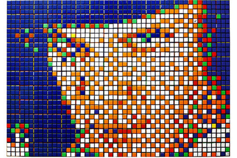 Le Pixel Art De Lartiste Space Invaders