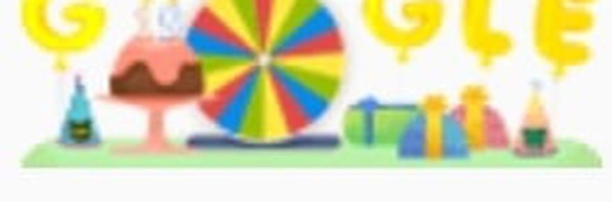 Google birthday surprise spinner: le bug de l'anniversaire de Google
