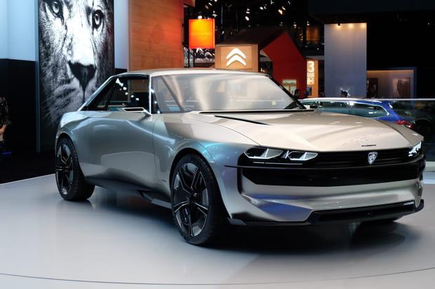 Le Peugeot e-Legend Concept ne devrait pas être commercialisé