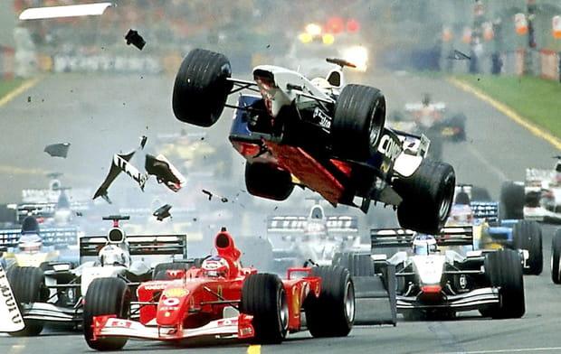 Ralf Schumacher à Melbourne (Australie) en 2002