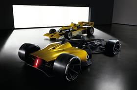 Renault F1RS Vision 2027: la F1du futur se laisse approcher [photos]