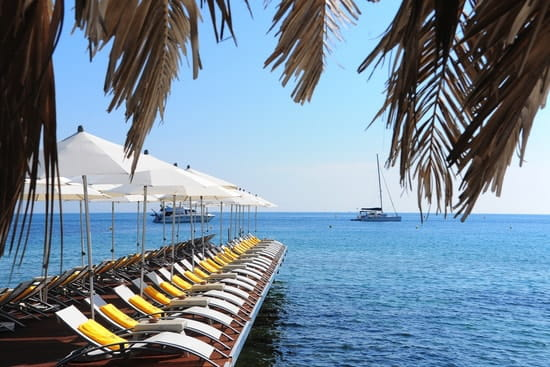 Le Pavillon Beach  - Ponton restaurant Le Pavillon Beach -   © Franck Follet