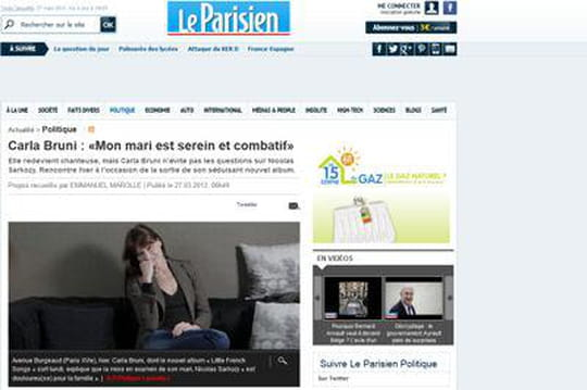 Carla Bruni: lamise en examen de Nicolas Sarkozy lafait pleurer