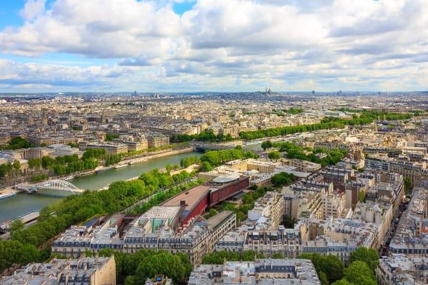 Le Quai Branly Vu De La Tour Eiffel