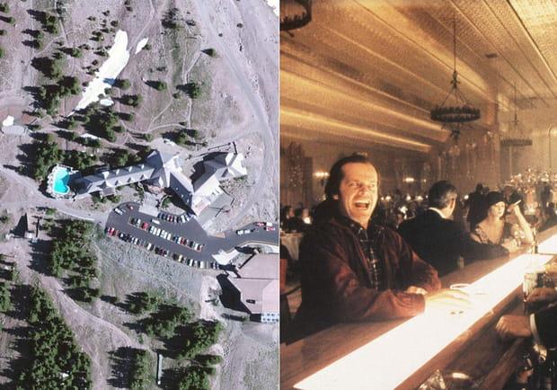 L'hôtel perdu dans la montagne de Shining