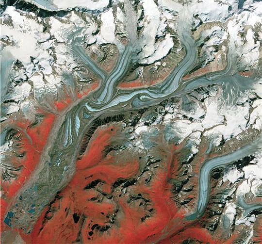 Glacier Sustina