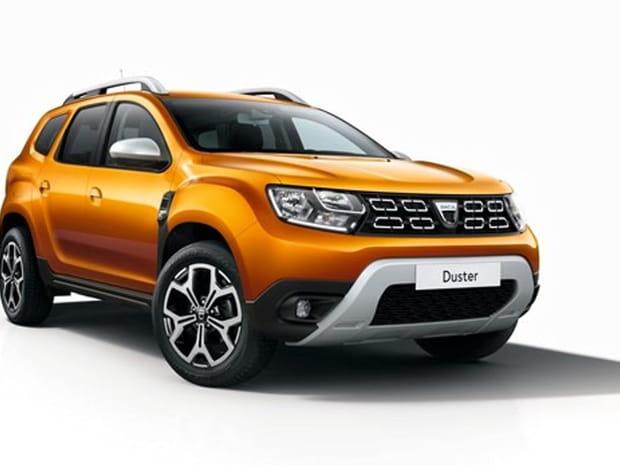 Les premières images du nouveau Dacia Duster