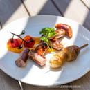 Plat : Le Jardin des Sablons  - Saucisse Catalane et Chorizo -   © Les Sablons