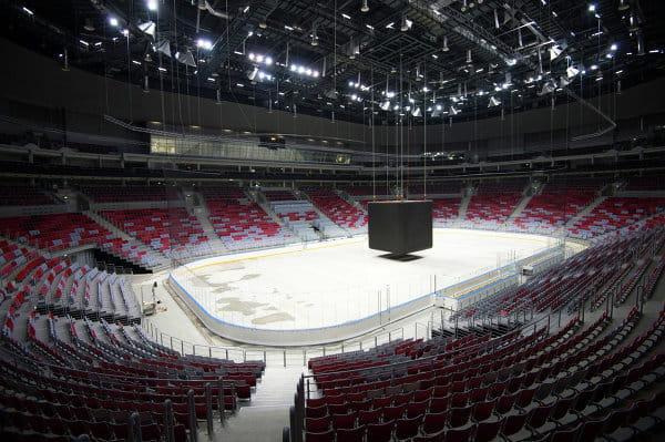 La patinoire du palais Bolchoï