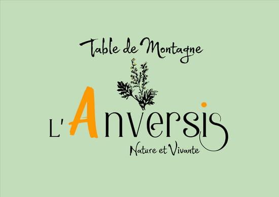 L'Anversis, Table de Montagne   © anversis