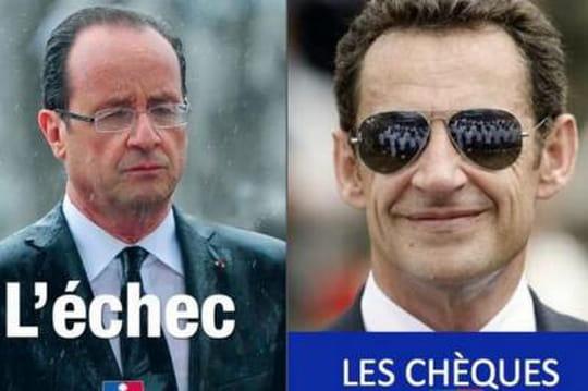 Un an de Hollande: duel d'affiches et de vidéos entre PS et UMP