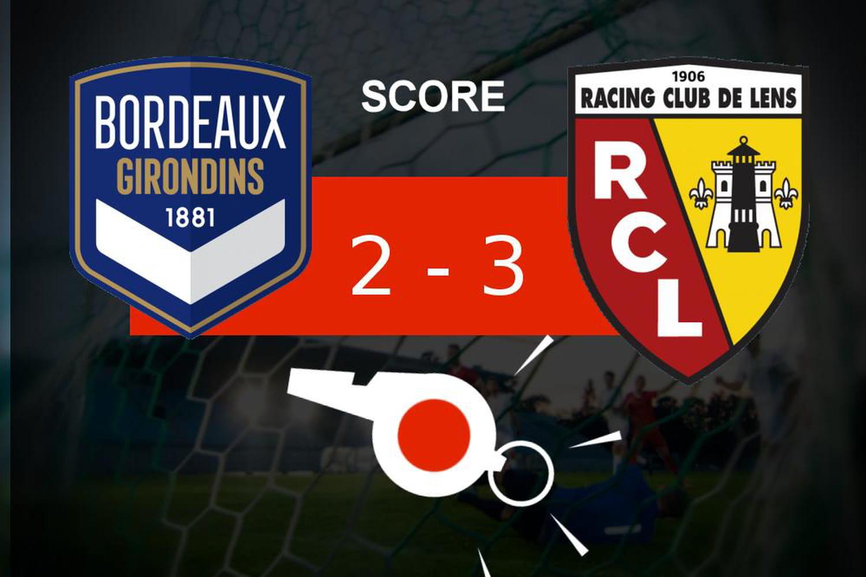 Bordeaux - Lens: les Girondins de Bordeaux tombe, revivez les moments clés du match
