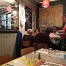 Restaurant : La Cantine des Grands  - Un petit coin de table -
