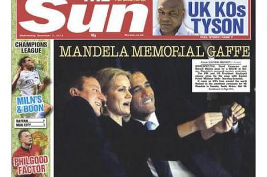 """Obama : son """"selfie"""" avec Helle Thorning-Schmidt et la colère de Michelle"""