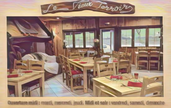 Restaurant : Le Vieux Terroir  - Carte de visite -   © Restaurant