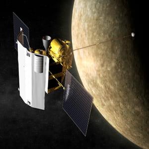 mercure devient l'objet d'études de messenger durant un an