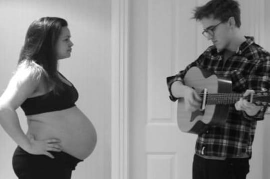9mois de grossesse: la vidéo vue 4,5millions de fois