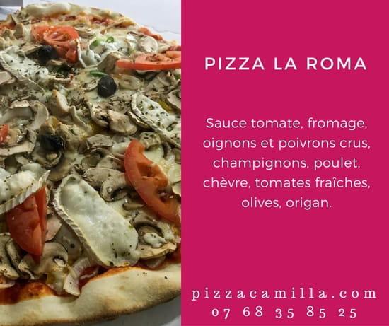 Pizza Camilla  - Pizza du mois d'octobre -   © Pizza Camilla