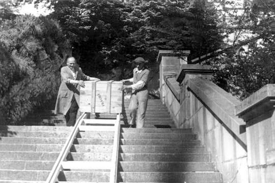 1944: la découverte