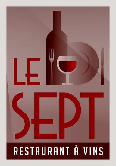 Restaurant : Le Sept  - Le Sept, Carte de Visite -   © Le Sept