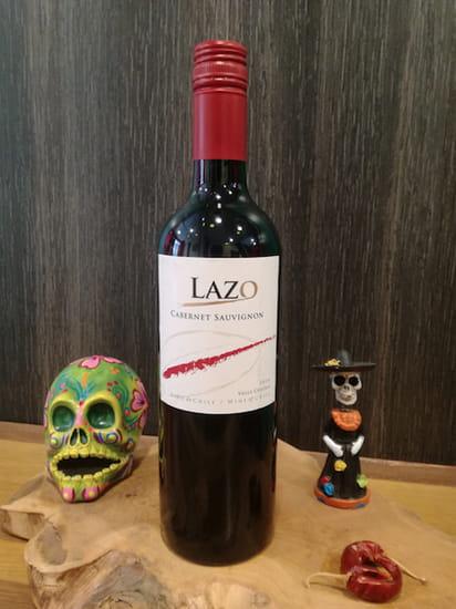 Boisson : Tex A Way  - Vin rouge chilien Lazo Cabernet Sauvignon -   © #TEXAWAYOFLIFE