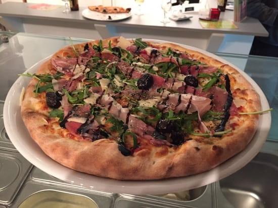 Plat : Pizzarella  - Chèvre Miel  -