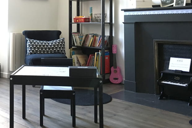 la chemin e relook e. Black Bedroom Furniture Sets. Home Design Ideas