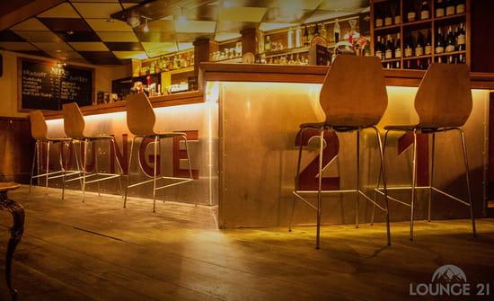 Restaurant : Lounge 21  - Bar Lounge 21 Alpe d'Huez -   © Bar Lounge 21